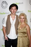Clare Bowen Photo - LOS ANGELES - MAR 9  Sam Palladio Clare Bowen arrives at the  Nashville PaleyFEST Event at the Saban Theater on March 9 2013 in Los Angeles CA