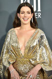 Ann Hathaway Photo - LOS ANGELES - JAN 12  Anne Hathaway at the Critics Choice Awards 2020 at the Barker Hanger on January 12 2020 in Santa Monica CA