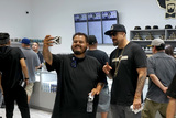 B Real Photo - LOS ANGELES - AUG 15  B Real of Cyprus Hill with customers at the Dr Greenthumb Cannabis Dispensary Opening at 12751 Foothill Blvd on August 15 2018 in Sylmar CA