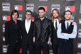 Adam Levine Photo - LOS ANGELES - JAN 14  Matt Flynn Mickey Madden Adam Levine James Valentine and Jesse Carmichael of Maroon 5 arrives at the 16th Annual Critics Choice Movie Awards  at Hollywood Palladium on January 14 2011 in Los Angeles CA