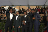 Aldis Hodge Photo - LOS ANGELES - JAN 30  Corey Hawkins Neil Brown Jr Jason Mitchell OShea Jackson Jr Aldis Hodge at the 22nd Screen Actors Guild Awards at the Shrine Auditorium on January 30 2016 in Los Angeles CA