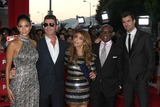 ANTONIO REID Photo - LOS ANGELES - SEP 14  Nicole Scherzinger Simon Cowell Paula Abdul Antonio Reid Steve Jones arriving at the X-Factor Premiere Screening at ArcLight Theater on September 14 2011 in Los Angeles CA