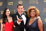 SUNNY ANDERSON Photo - LOS ANGELES - APR 26  Katie Lee Jeff Morrow Sunny Anderson at the 2015 Daytime Emmy Awards at the Warner Brothers Studio Lot on April 26 2015 in Burbank CA
