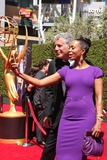 Anthony Bourdain Photo - LOS ANGELES - AUG 16  Anthony Bourdain Aisha Tyler at the 2014 Creative Emmy Awards - Arrivals at Nokia Theater on August 16 2014 in Los Angeles CA