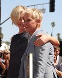Portia deRossi Photo - LOS ANGELES - SEP 4  Portia DeRossi Ellen DeGeneres at the Hollywood Walk of Fame Ceremony for Ellen Degeneres at W Hollywood on September 4 2012 in Los Angeles CA