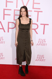 Caitlin Carver Photo - LOS ANGELES - MAR 7  Caitlin Carver at the Five Feet Apart Premiere at the Bruin Theater on March 7 2019 in Westwood CA