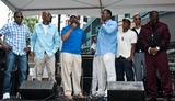 Ralph Tresvant Photo - PHILADELPHIA PA - JUNE 28 (L to R) Ricky Bell Ralph Tresvant Mayor Michael Nutter Bobby Brown Michael Bivins Ronnie DeVoe and Johnny Gill of American RB Group New Edition Celebrates The Liberty Bell Award at The Liberty Block Party on June 28 2014 in Philadelphia Pennsylvania (Photo by Paul J FroggattFamousPix)