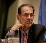 Javier Solana Photo - New York NY 9-26-2008United NationsJavier Solana High Representative for European Common Foreign and Security Policyvisits the 63rd UN General AssemblyDigital photo by Luiz Rampelotto-PHOTOlinknet