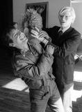Andy Warhol Photo - Rubell Warhol3962JPGCelebrity Archaeology1978 FILE PHOTONew York CityStudio 54 co-owner Steve Rubell Andy WarholPhoto by Adam Scull-PHOTOlinknet