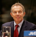 Tony Blair Photo - New York NY 9-26-2008United NationsTony Blairvisits the 63rd UN General AssemblyDigital photo by Luiz Rampelotto-PHOTOlinknet