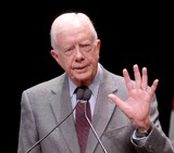 Jimmy Carter Photo - Washington DC - March 8 2007 -- FILE PHOTOFormer United States President Jimmy Carter speaks to students at George Washington University on his controversial book  Palestine Peace Not ApartheidPhoto by Ron Sachs-CNP-PHOTOlinknet