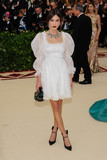 Alexa Chung Photo - Photo by ESBPstarmaxinccomSTAR MAX2018ALL RIGHTS RESERVEDTelephoneFax (212) 995-11965718Alexa Chung at the 2018 Costume Institute Benefit Gala celebrating the opening of Heavenly Bodies Fashion and the Catholic Imagination(The Metropolitan Museum of Art NYC)