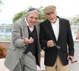 Abel Ferrara Photo - Photo by NPXstarmaxinccom 200852308Dennis Hopper and Abel Ferrara at a photocall for Chelsea on the Rocks(Cannes France)Not for syndication in England Germany France and Sweden