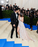 Selena Gomez Photo - Photo by ESBPstarmaxinccomSTAR MAXCopyright 2017ALL RIGHTS RESERVEDTelephoneFax (212) 995-11965117Selena Gomez and The Weeknd at the 2017 Costume Institute Gala - Rei KawakuboComme des Garcons Art Of The In-Between(Metropolitan Museum of Art NYC)