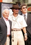 Alan Horne Photo - Photo by REWestcomstarmaxinccom200591605Johnny Depp with Richard Zanuck and Alan Horn at a Hand and Footprint Ceremony in his honor(Hollywood CA)