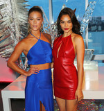 Nina Agdal Photo - Photo by XPXstarmaxinccomSTAR MAX2016ALL RIGHTS RESERVEDTelephoneFax (212) 995-119681716Nina Agdal and Shanina Shayk at a promotional event for The Opening of W Dubai(NYC)