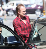 Sting Photo - Photo by gotpapstarmaxinccomSTAR MAX2016ALL RIGHTS RESERVEDTelephoneFax (212) 995-119671816Sting is seen in Los Angeles CA
