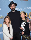 Alabama Photo - Photo by KGC-11starmaxinccomSTAR MAXCopyright 2015ALL RIGHTS RESERVEDTelephoneFax (212) 995-119612915Travis Barker with his daughter Alabama Barker and his son Landon Barker at the opening night of Cirque du Soleils Kurios  Cabinet of Curiosities(Dodger Stadium Los Angeles CA)