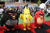 Angry Bird Photo - Photo by Michael GermanastarmaxinccomSTAR MAX2016ALL RIGHTS RESERVEDTelephoneFax (212) 995-11965716Atmosphere at the premiere of Angry Birds(Los Angeles CA)