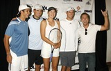 Mike Bryan Photo - Photo by NPXstarmaxinccom20073607Maria Sharapova with Fernando Verdasco Bob Bryan Mike Bryan and Lance Bass at the Duel in the Desert Benefit(CA)Not for syndication in France