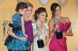 Aubrey Anderson Photo - Photo by PDAADstarmaxinccom2012ALL RIGHTS RESERVEDTelephoneFax (212) 995-119612912Aubrey Anderson-Emmons Julie Bowen Sarah Hyland and Sofia Vergara at the 18th Annual Screen Actors Guild Awards (SAG)