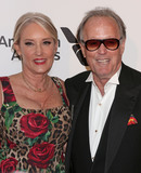 Peter Fonda Photo - Photo by REWestcomstarmaxinccomSTAR MAXCopyright 2019ALL RIGHTS RESERVEDTelephoneFax (212) 995-11962242019Parky DeVogelaere and Peter Fonda at the 27th Annual Elton John AIDS Foundation Academy Awards Viewing Party(West Hollywood CA)