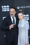 Kyla Kenedy Photo - Photo by gotpapstarmaxinccomSTAR MAX2017ALL RIGHTS RESERVEDTelephoneFax (212) 995-1196102217Andrew Lincoln and Kyla Kenedy at AMCs Celebration of The 100th Episode of The Walking Dead in Los Angeles CA