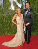 Constantine Maroulis Photo - June 7 2015 - New York NY - Angel Reed and Constantine MaroulisAmerican Theatre Wings 69th Annual Tony Awards at Radio City Music HallPhoto Credit Demis MaryannakisStar Max