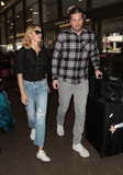 Amber Valletta Photo - Photo by SMXRFstarmaxinccomSTAR MAX2017ALL RIGHTS RESERVEDTelephoneFax (212) 995-1196101717Amber Valletta and Teddy Charles are seen at LAX Airport in Los Angeles CA