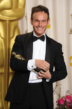 Chris Terrio Photo - Chris Terrio with his Oscar for Adapted Screenplay received for Argo at the 85th Academy Awards at the Dolby Theatre Los Angeles