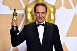 Alexandre Desplat Photo - Photo by Matt CrossickstarmaxinccomSTAR MAXCopyright 2018ALL RIGHTS RESERVEDTelephoneFax (212) 995-11963418Alexandre Desplat winner of the award for Best Original Score for The Shape of Water at the 90th Annual Academy Awards (Oscars) presented by the Academy of Motion Picture Arts and Sciences(Hollywood CA USA)