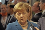 Angela Merkel Photo - German chancellor ANGELA MERKEL visiting the  Hannover Messe 25042016