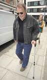 David Soul Photo - Starsky  Hutch star and 70s heartthrob David Soul leaves BBC Radio 2 today where he supported his daughter China who is promoting her new album Secrets  Words David who played Hutch in the hit series was very unsteady on his crutch as he was leaving