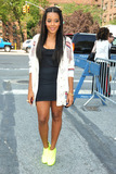 Angela Simmons Photo - Russell Simmons niece Angela Simmons arrives at the New York Mercedes-Benz Fashion Week Spring 2012 New York NY 13th September 2011
