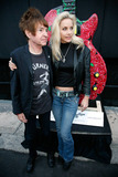 Cherie Currie Photo - Rodney Bingenheimer and Cherie Currie  at the official unveiling of Guitartown on the Sunset Strip and the completion of the Sunset Strip Beautification Project Los Angeles CA 81210