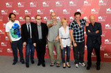 Arnaud Desplechin Photo - Luca Guadagnino Arnaud Desplechin Danny Elfman Guillermo Arriaga Ingeborga Dapkunaite Quentin Tarantino and Gabriele Salvatores attend the Jury Photocall during the 67th annual Venice Film Festival in Venice Italy 9110