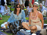 Angelica Huston Photo - Angelica Huston and Savannah Buffett attend Kylie Minogue and Rufus Wainwrights performance at the Watermill Summer Concert Last Song of Summer Watermill NY 82810