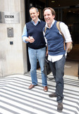 Alexander Armstrong Photo - UK stand-up comedians Alexander Armstrong and Ben Miller pose for photos outside BBC Radio 2 London UK 91010