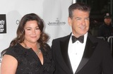 Keely Shaye-Smith Photo - Keely Shaye Smith and Pierce Brosnan Arriving at the Film Society of Lincoln Centers 40th Anniversary Chaplin Award Gala Honoring Barbra Streisand at Avery Fisher Hall in New York City on 04-22-2013 Photo by Henry Mcgee-Globe Photos Inc 2013