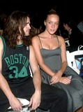 ARE Weapons Photo - Chloe Sevigny with Boyfriend Matt Mcauley (are Weapons) at Imitation of Christ Showing of Spring Collection in New York City on September 14 2003 Photo Henry McgeeGlobe Photos Inc 2003
