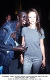 Audrey Marnay Photo - tommy Hilfiger Spring Collection 2000 in NYC 091499 Alek Wek and Audrey Marnay Photo by Henry McgeeGlobe Photos Inc