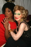 Holly Woodlawn Photo - Flotilla Debarge and Holly Woodlawn at Wigstock 2004 at Tompkins Square Park in New York City on August 21 2004 Photo by Henry McgeeGlobe Photos Inc 2004