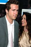 Alanis Morisette Photo - Ryan Reynolds and Alanis Morissette at Tribeca Film Festival Premiere of the In-laws at Tribeca Performing Arts Center in New York City on May 10 2003 Photo by Henry McgeeGlobe Photos Inc 2003
