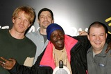 Anthony Cumia Photo - Flava Flav with Opie Hughes Anthony Cumia and Jim Norton on Xm Satellite Radios Opie and Anthony at Xms Studios in New York City on 02-10-2005 Photo by Henry McgeeGlobe Photos Inc 2005