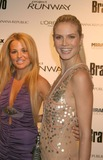 Alexandra Vidal Photo - New York NY  11-30-2004Heidi Klum and Alexandra Vidal (Project Runway contestant) attend the party celebrating the launch of the new Bravo series Project Runway at PM LoungeDigital Photo by Lane Ericcson-PHOTOlinkorg