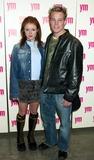 AUBREY DOLLAR Photo - Aubrey Dollar and Marty West (Guiding Light) at Party For Yms 4th Annual Mtv Issue at Splashlight Studios in New York City on March 4 2003 Photo by Henry McgeeGlobe Photos Inc2003 K29441hmc