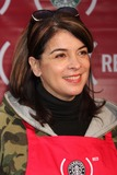 Annabella Sciorra Photo - New York NY 11-28-2008Annabella Sciorralaunch of  Starbucks and (RED) partnership at Times Squares Military Island (RED) is designed to help eliminate AIDS in AfricaDigital photo by Lane Ericcson-PHOTOlinknet