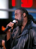 Barry White Photo -  Sd07301999 Barry White in Concert on the Today Show Rockefeller Center  NYC Photo by Henry Mcgee  Globe Photosinc Barrywhiteretro