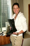 Andrea Parker Photo - ANDREA PARKER WITH BATMAN CONVERSE BOOT AT THE BROADCAST SUITE-DAY TWO PRESENTED BY W MAGAZINE  THINK PR TO CELEBRATE TELEVISIONS NEW FALL SEASON AT LE PARKER MERIDIEN IN NEW YORK CITY ON 05-17-2005  PHOTO BY HENRY McGEEGLOBE PHOTOS INC 2005K43325HMCEXCLUSIVE