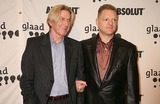 Andy Bell Photo - Andy Bell of Erasure with His Boyfriend Paul Hickey Arriving at the 17th Annual Glaad Media Awards at the Marriott Marquis in New York City on 03-27-2006 Photo by Henry McgeeGlobe Photos Inc 2006